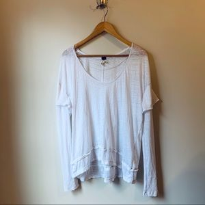 Free People We The Free Scoop Neck Shirt